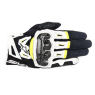 Smx 2 Air Carbon V2 Gloves BLK/WHT/FLU