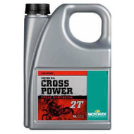 Motorex Cross Power Fully Synthetic Motor Oil 2T 4L