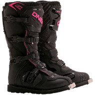 Oneal 2018 Womens Rider Boots Black / Pink