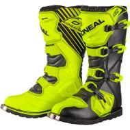 Oneal 2017 Rider Boots Hi Viz Yellow