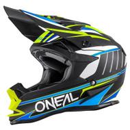 Oneal 2017 7 Series Chaser Helmet Blk/Blu/Hi Viz