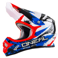 Oneal 2017 3 Series Shocker Helmet Blk/Blu/Red Youth