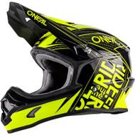 Oneal 2018 Adult 3 Series Fuel Helmet - Black / Hi Viz