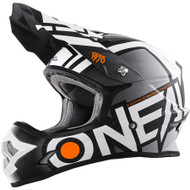 Oneal 2017 3 Series Radium Helmet Blk/Wht Youth