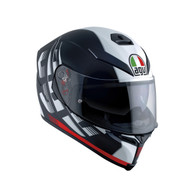 AGV K-5 S Darkstorm Matt Black/Red