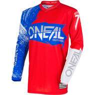 Oneal 2018 Adult Element Burnout Jersey - Red / Blue