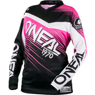 Oneal 2018 Womens Element Jersey - Black / Pink