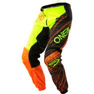 Oneal 2018 Womens Element Burnout Pants - Black / Hi-Viz