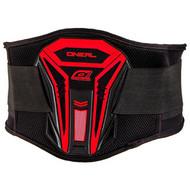 Oneal PXR Kidney Belt - Black / Red