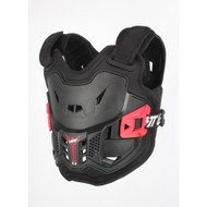 Leatt 2.5 Kids Chest Protector - Black / Red