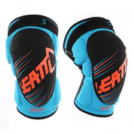 Leatt 3DF 5.0 Junior Knee Guards - Blue / Orange