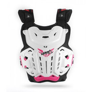 Leatt Jacki Chest Protector 4.5 - White / Pink