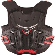 Leatt 4.5 Junior Chest Protector - Black / Red