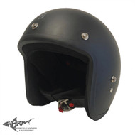 Scorpion Baron Helmet - Matt Black (Studs)