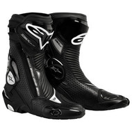 Alpinestars Black SMX Plus Riding Boots