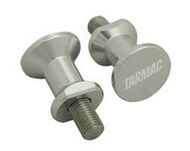 Tarmac Pick-Up Knobs 6mm - Silver