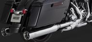 V&H Titan Oversize 450 Slip-Ons (95 - 16) - Chrome