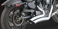 V&H Big Radius Sportster Exhaust (04 - 13)