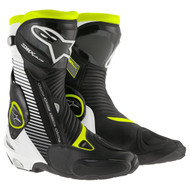 Alpinestars Black / Yellow SMX Plus Riding Boots