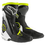 Alpinestars Black / Yellow SMX Plus Riding Boots