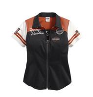 Harley-Davidson Shirt - Zip/Front,Classic,Woven
