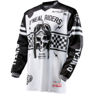 ONEAL ULTRA LITE LE 70 JERSEY BLK/WHT YOUTH (XL)