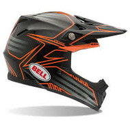 Bell Moto 9 Helmet - Black / Orange