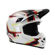 Bell Moto 9 Pace Helmet - Black / White