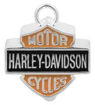 Harley-Davidson® Big Bar & Shield Ride Bell Orange & Black