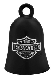 Harley-Davidson® Bar & Shield Logo Motorcycle Ride Bell, Black