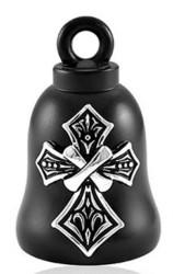 Harley-Davidson® Mens Tribal Cross with B&S Black Ride Bell