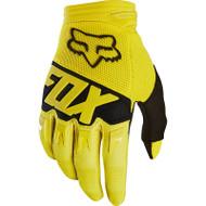 Fox 2018 Dirtpaw Race Glove - Yellow