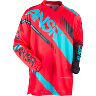 Answer Syncron Youth Jersey - Red / Teal