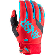 Answer Syncron Youth Gloves - Red / Teal