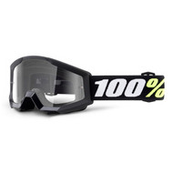 100% Strata Mini Pee Wee Goggles - Black