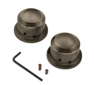 Brass Collection Front Axle Nut Covers