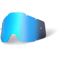 100% Racecraft Accuri Replacement Blue Mirror Lens