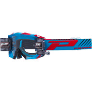 Progrip 3218 Venom Roll Off  Goggles - Turquoise / Red