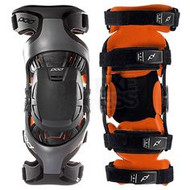 Pod K1 Youth Knee Brace GRY/ORG