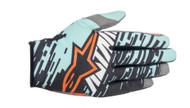 Alpinestars Racer Braap Gloves Turquoise