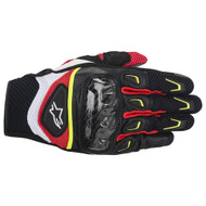 Alpinestars SMX-2 Air Carbon Gloves Red/ Yellow