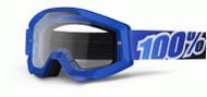 100% Strata Moto Goggle Blue Lagoon