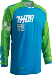 Thor Youth Phase Ramble Blue Jersey