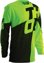 Thor Prime Tach Green jersey