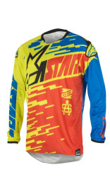 Alpinestars Racer Braap Jersey Red/Blue/Lime green