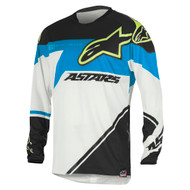 Alpinestars Racer Supermatic Jersey Black/Cyan