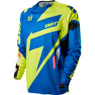 Shift Mx 2015 Faction Mainline Blue Adult Jersey