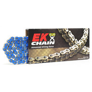 EK Chains 520 O-Ring Heavy Duty Blue 120L Race Chain