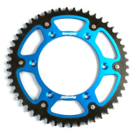 Supersprox Yamaha YZ/YZF/WR/WRF Blue Stealth Rear Sprocket - choose gearing