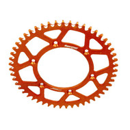 SUPERSPROX KTM/HUSABERG/HUSQVARNA ORANGE ALLOY REAR SPROCKET- choose gearing